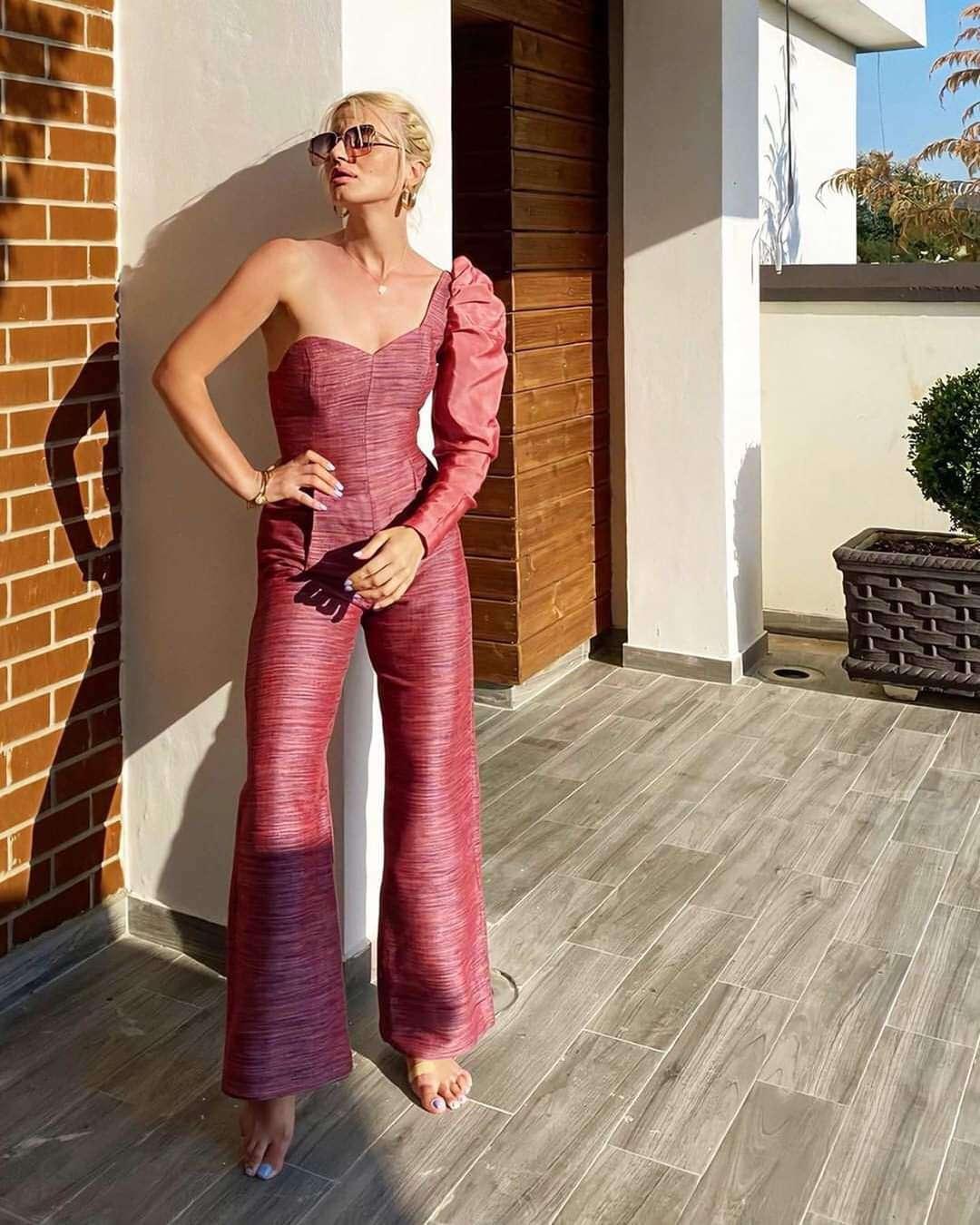 Linda Dido wearing Amargi