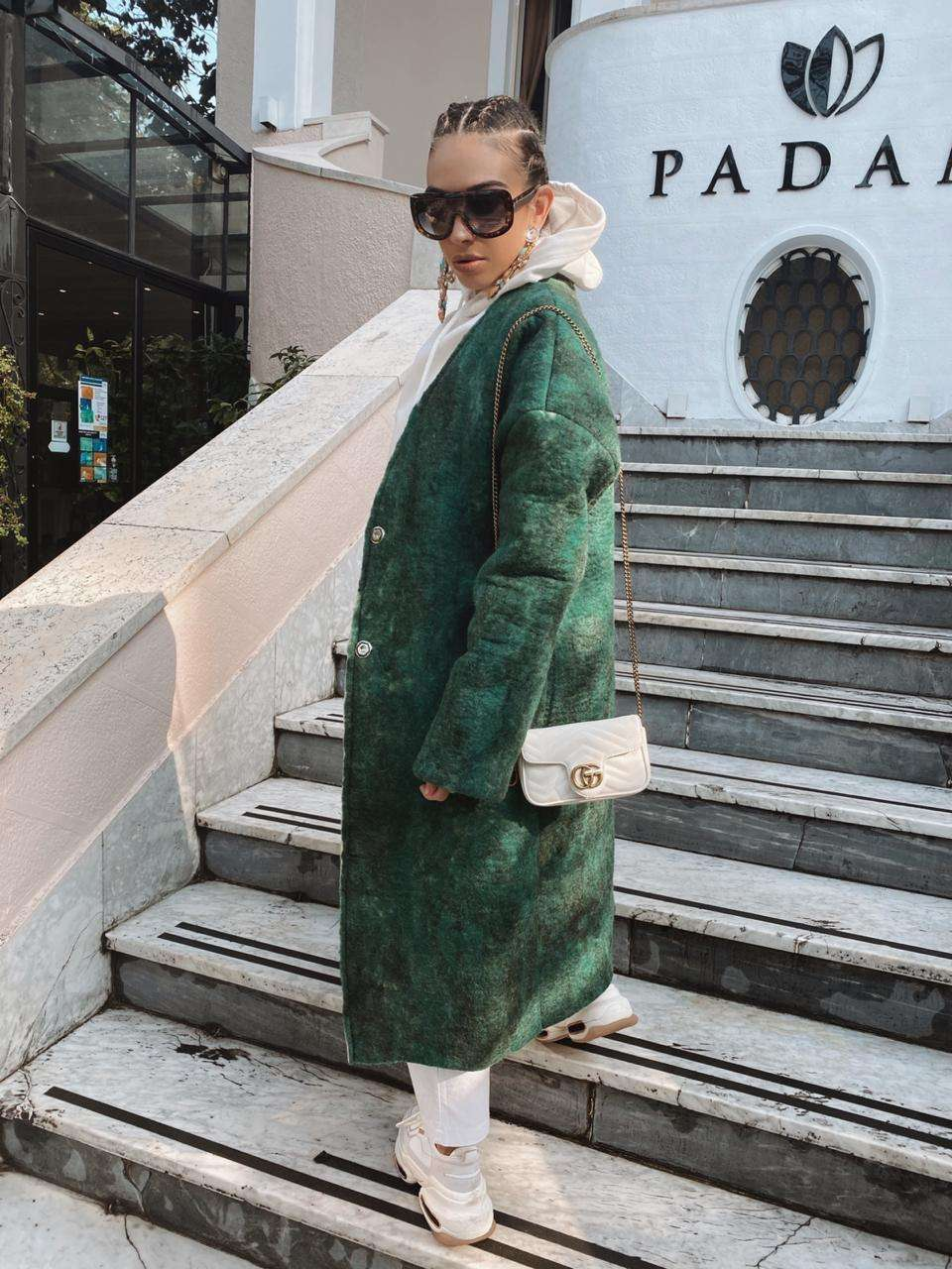 Jonida Vokshi wearing Amargi