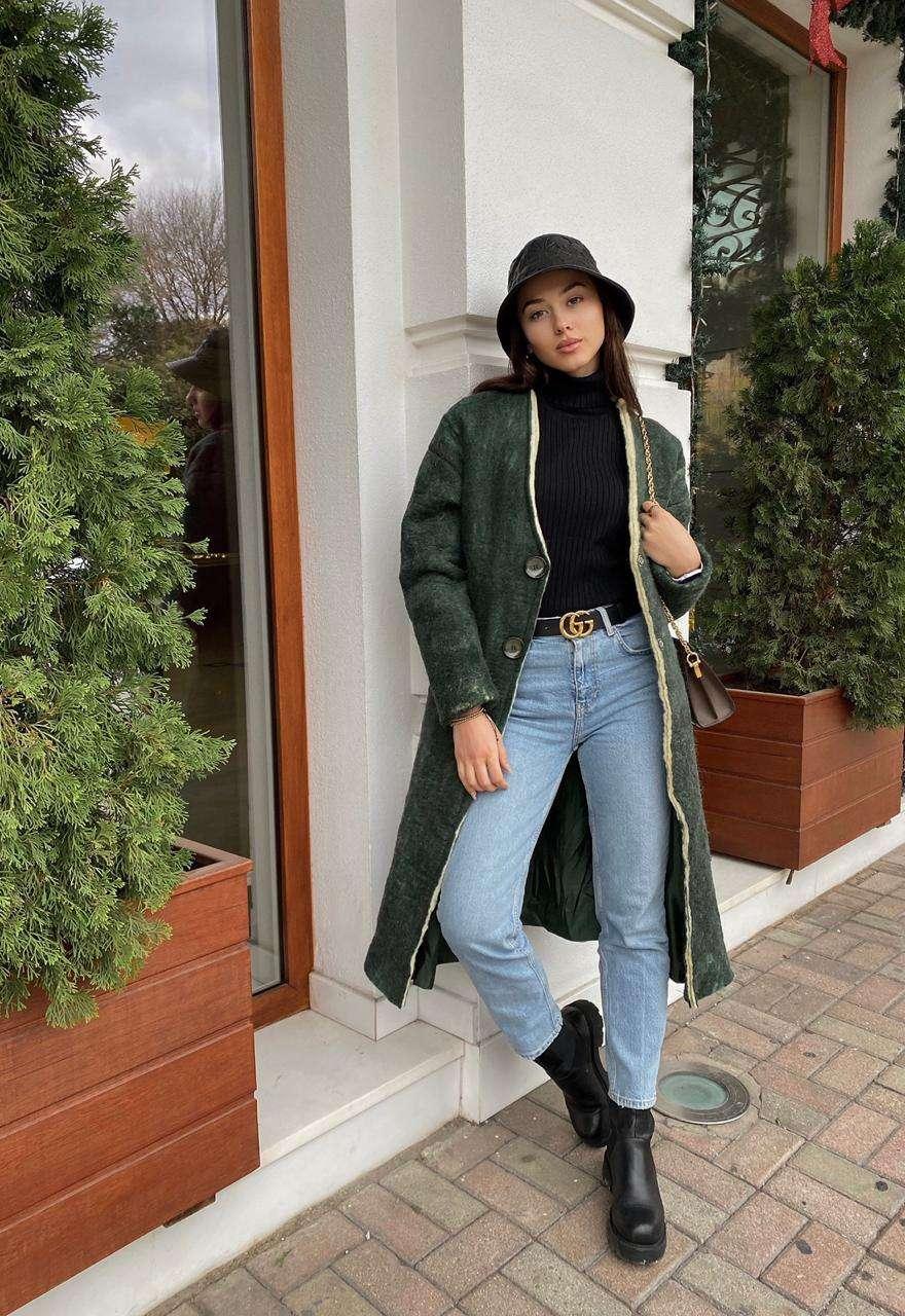 Kristina Bakiu wearing Amargi
